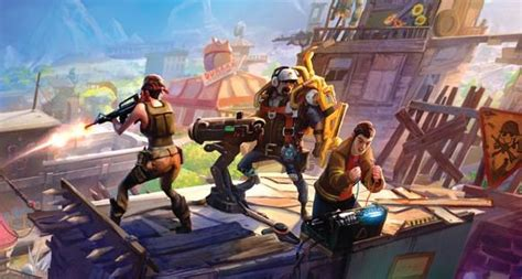Fornite video on Game Informer features gameplay