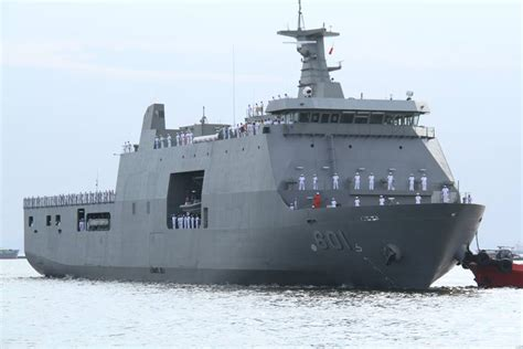 Navy's newest warship rammed, damaged by oil tanker