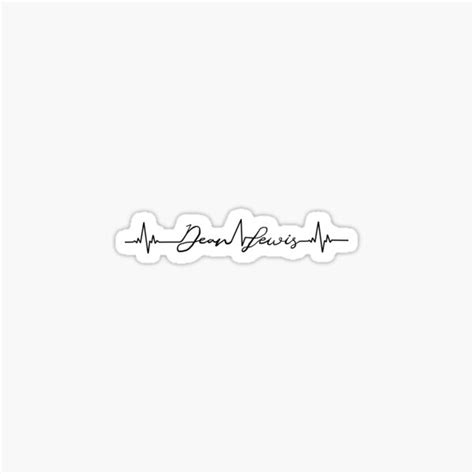 Dean Lewis Stickers | Redbubble