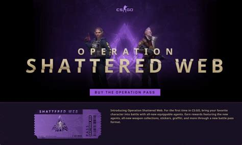 CS:GO launches big update with Operation Shattered Web
