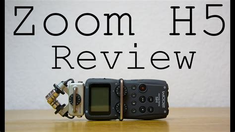 Zoom H5 Review: The Best Mic I've Ever Used - YouTube