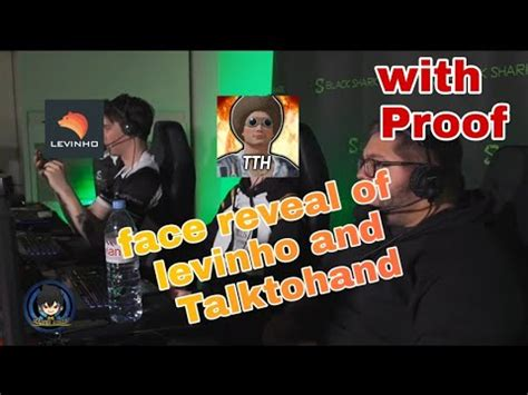 Face Reveal of levinho and Talktohand |100% proof || Gamer