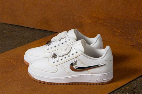 Here's Where to Cop the Travis Scott x Nike Air Force 1