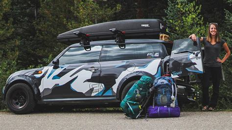 Lifted Mini Clubman Camper Is Your Tiny House For The