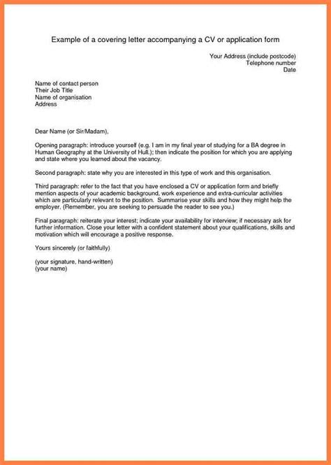 8+ accompanying letter for job application | Company