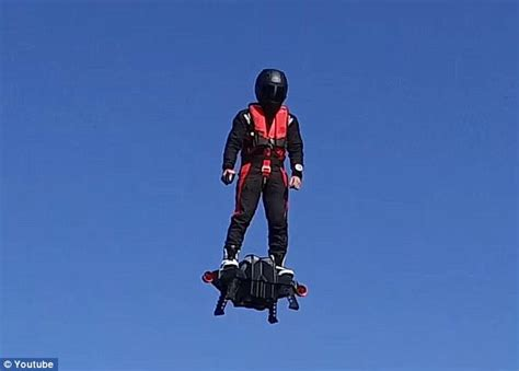 I read about a real hoverboard that actually flies
