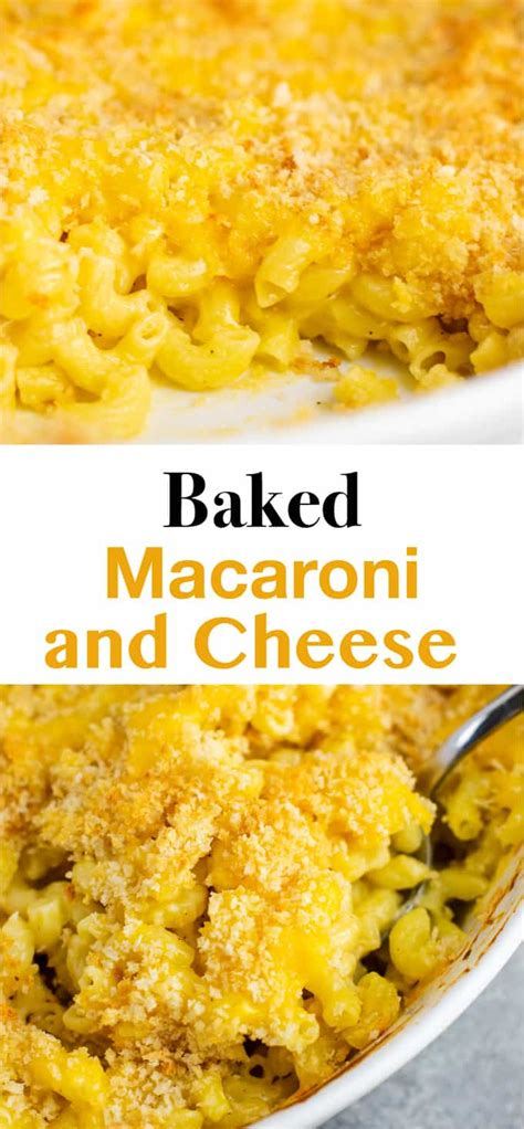 Baked Macaroni and Cheese Recipe - Build Your Bite