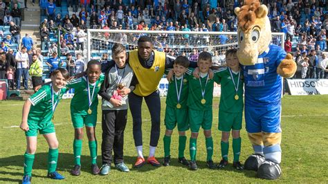 WOODLANDS ACADEMY CROWNED HALF-TIME SHOOT OUT CHAMPIONS