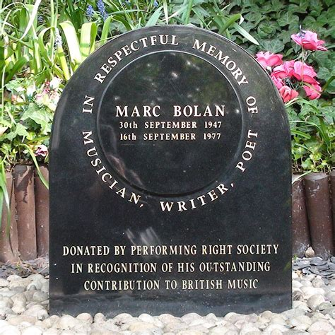 Marc Bolan shrine - PRS : London Remembers, Aiming to