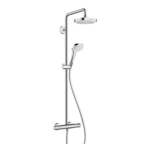 Hansgrohe Croma Select E 180 2jet Showerpipe - 27257400