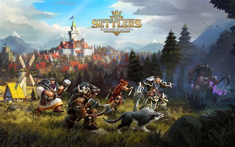 The Settlers Kingdoms of Anteria Wallpapers | HD