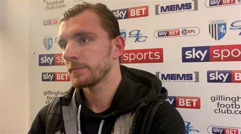 Press conference: Alex Gilbey on Gillingham defeat - News