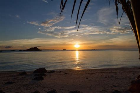 Best sunset view on the island - Picture of Tepanee Beach