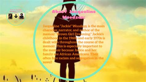 Brown Girl Dreaming Jacqueline Woodson's Character Traits