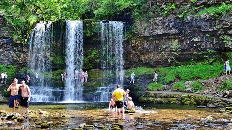 Waterfall Country, Brecon Beacons, Wales, United Kingdom