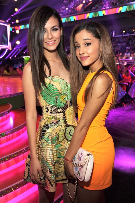 Cast of Nick's Victorious Including Ariana Grande and