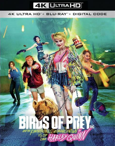 Birds of Prey 4K Ultra HD, Blu-ray and DVD details and