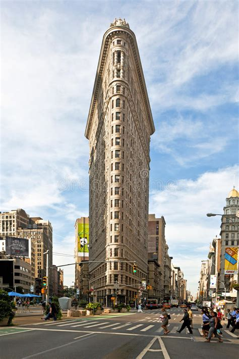 Famous Flatiron Building In New York City Editorial