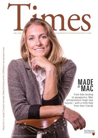 Fall McMaster Times2016 by McMaster University - Issuu