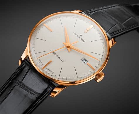 Junghans: Meister Chronometer Gold | Watchtime