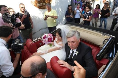 THE MARRIAGE OF KATIA ANCELOTTI AND MINO emotion DAD WITH