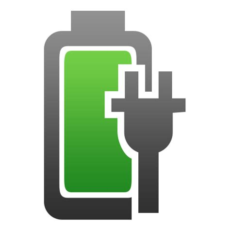 plugged, charged, Battery, charging icon