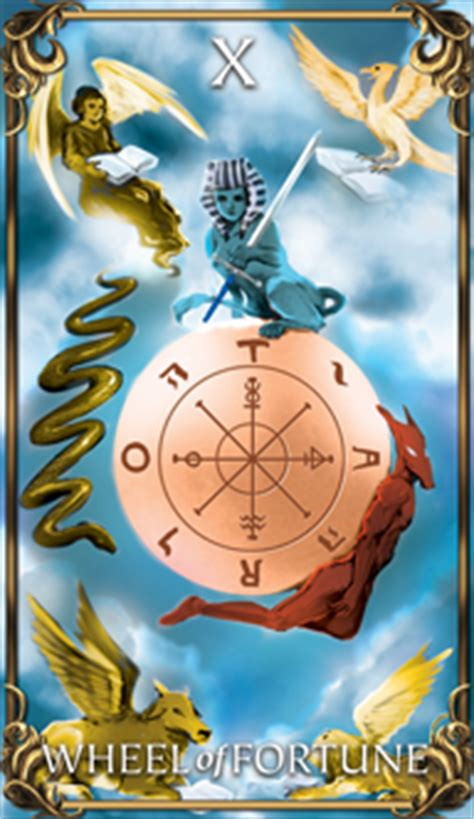 Wheel of Fortune - Tarot Card Meaning | AstrologyAnswers