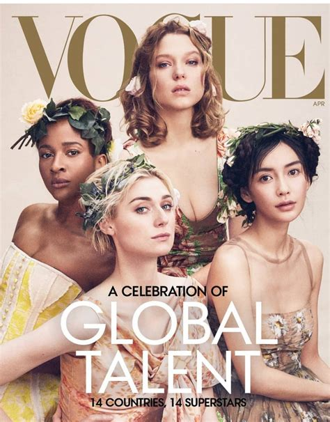 Adesua Etomi Featured on the Front Cover of Vogue Magazine