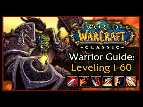 World of Warcraft - Warrior Tank Guide - Talents And