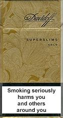 Buy Davidoff Cigarettes Online Shipping to Canada
