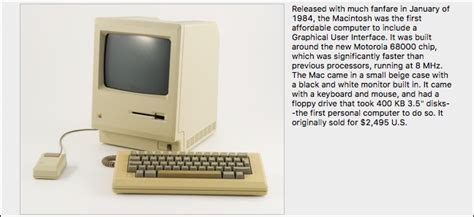 Learn the Geeky Details of Any Apple Product, Old and New