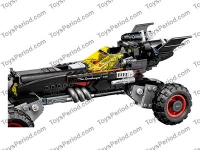 LEGO 70905 The Batmobile Set Parts Inventory and