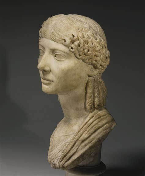 A Marble Portrait Bust of a Woman, Roman Imperial, reign