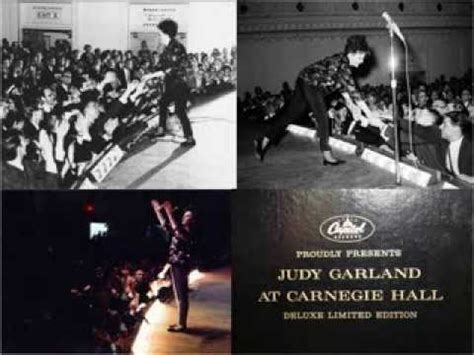 JUDY GARLAND - CARNEGIE HALL 1961 - PART 01 - FROM THE 2