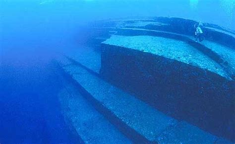 Three unexplained mysterious underwater structures