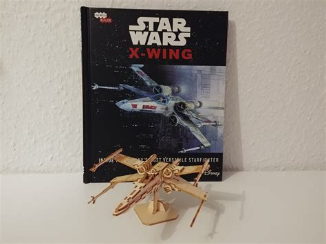 Rezension: IncrediBuilds: X-Wing – Deluxe Book and Model