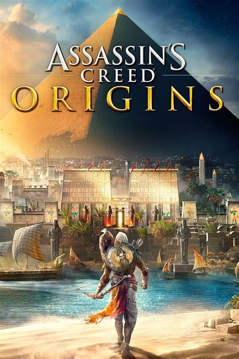 Assassin's Creed: Origins (2017) PlayStation 4 box cover