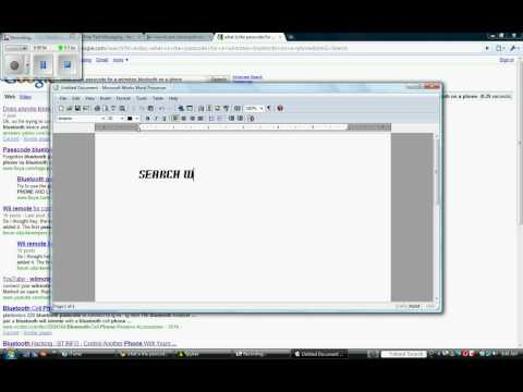 How To Use Your WiiMote as a Mouse in PowerPoint and Other